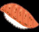 :sushi_aburi_salmon: